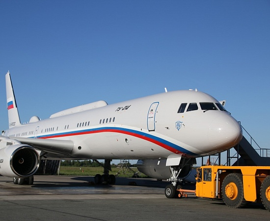 Tupolev transferred another Tu-214 into operation