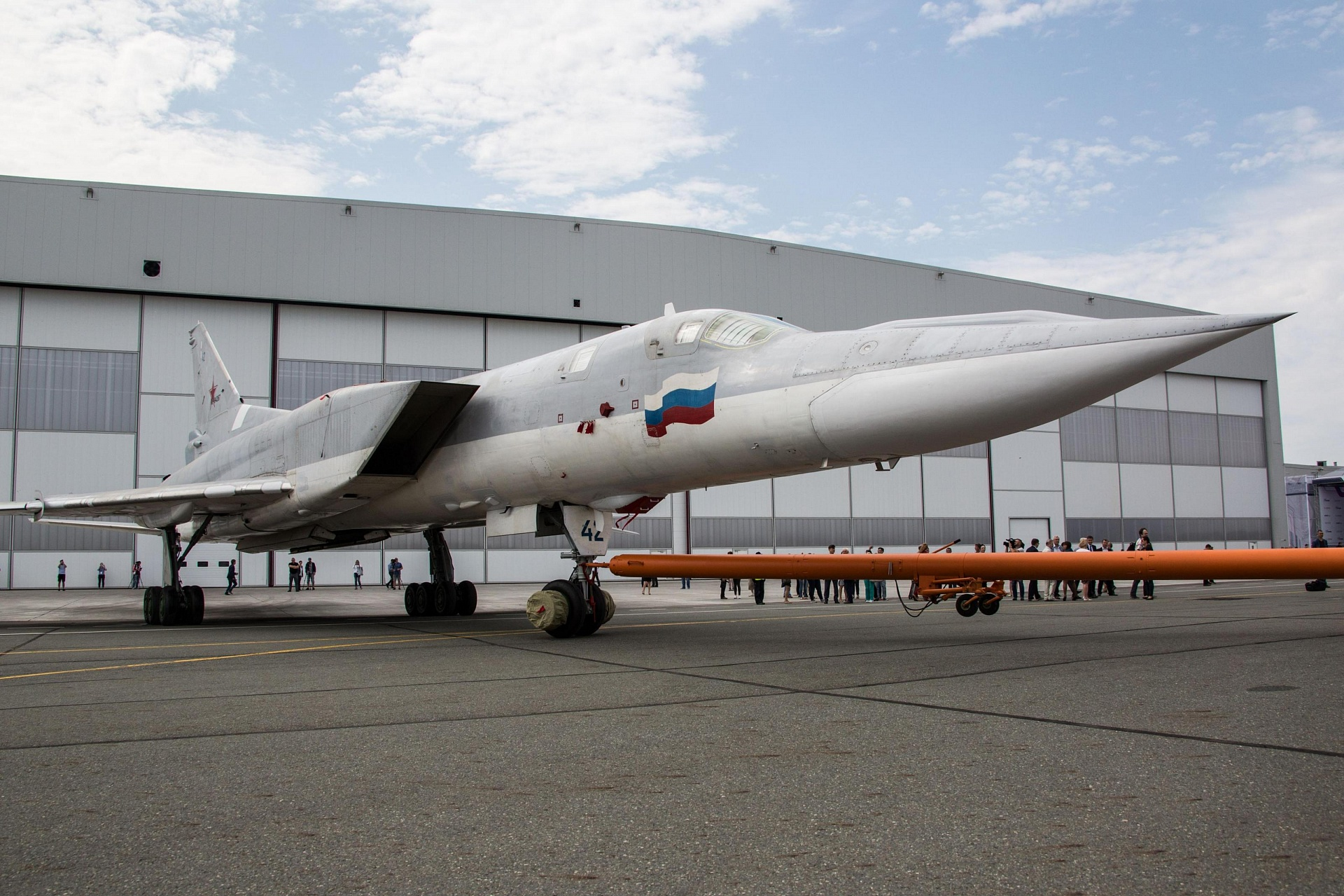 Выкатка Ту-22М3М